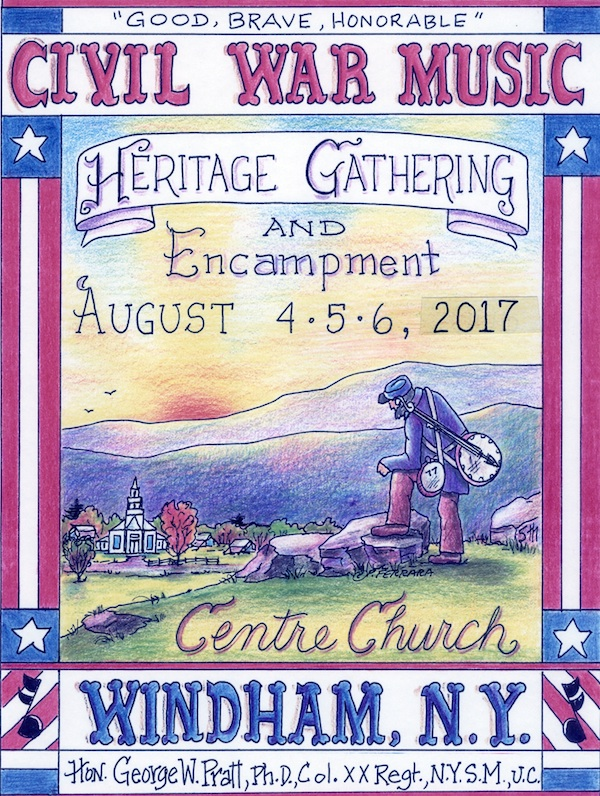 Civil War Heritage Weekend Windham Flyer 2017
